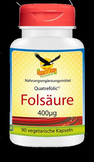 Folsäure 400mcg von GetUP hier kaufen
