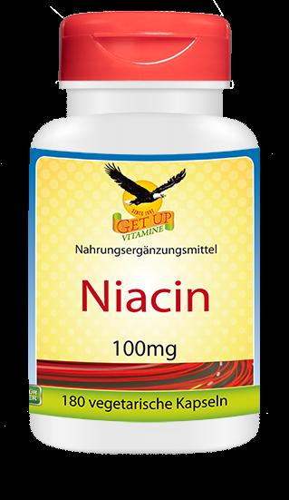 Vitamin B3 Niacin 100mg von GetUP hier bestellen