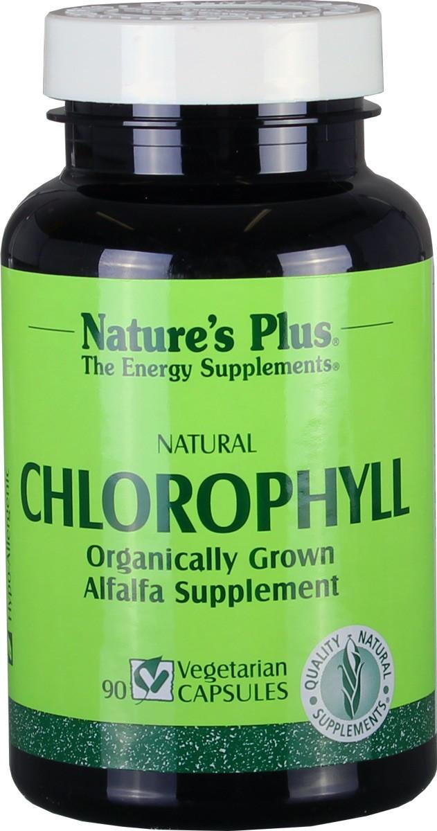 Chlorophyll 600 mg, 90 veg. Kaps