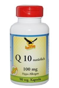 Coenzym Q10, 90 Kapseln zu je 100mg - vegetarisch