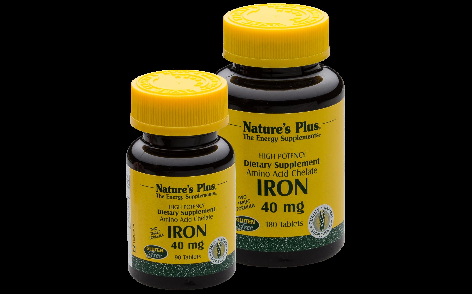 Eisen von Natures Plus, 180 Tabs zu 20mg