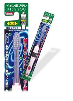 Ionen Zahnbürste mit superfeinem Bürstenkopf