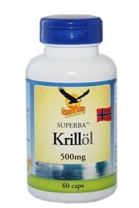 Krillöl Premium 500mg, 60 Kapseln