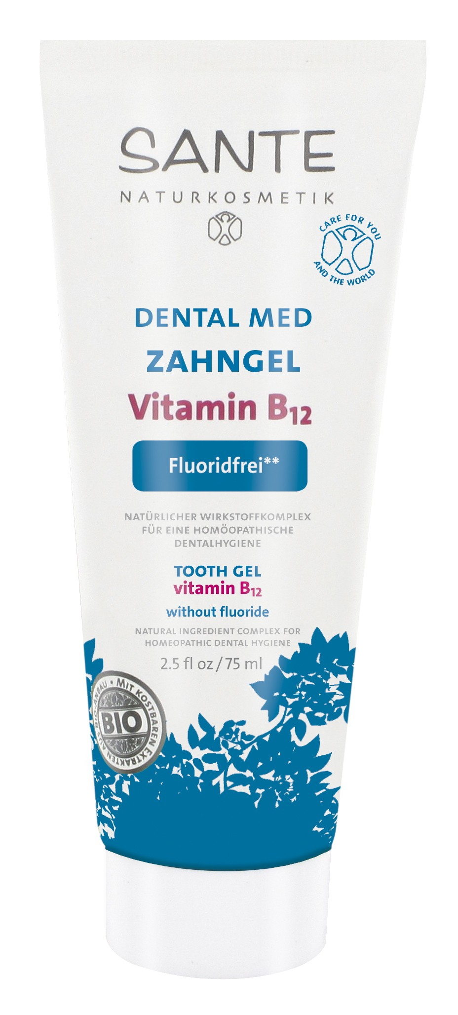 Xylit SANTE dental med Zahngel Vitamin B12
