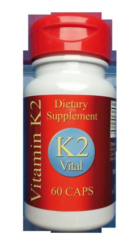 Vitamin K2 Vital - 200mcg reines MK 7 hier bestellen