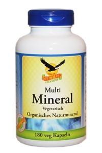 Multi Mineral Kapseln organisch hier bestellen
