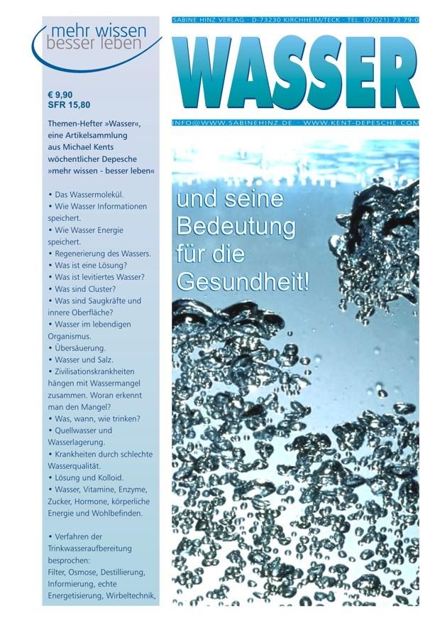 Themenhefter über Wasser