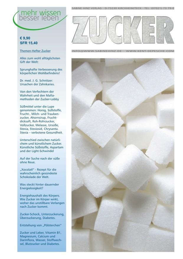 Themenhefter über Zucker