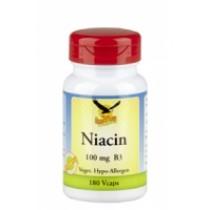 Niacin unterstützt die Energiegewinnung aus der Nahrung und die Funktionsfähigkeit des Nervensystems. Es ist also für die mentale Funktion notwendig. Niacin hilft, Haut und Schleimhäute gesund zu erhalten.