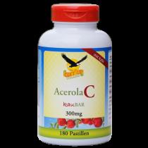 Acerola Vitamin C Kaupastillen mit Kirschgeschmack hier bestellen
