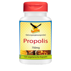 Propolis - natürliches Bienen-Harz, 120 veg. Kapseln zu 750mg