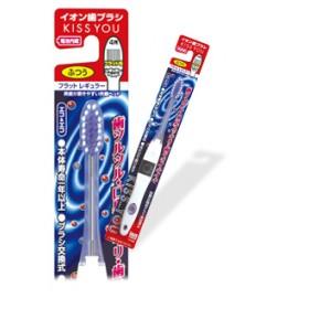 Ionen Zahnbürste mit flachem Bürstenkopf
