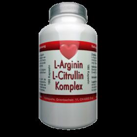 L-Arginin & L-Citrullin Komplex, 180 veg. Kaps