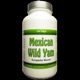 Mexican Wild Yam Kapseln, ganze Wurzel, 100% natürlich