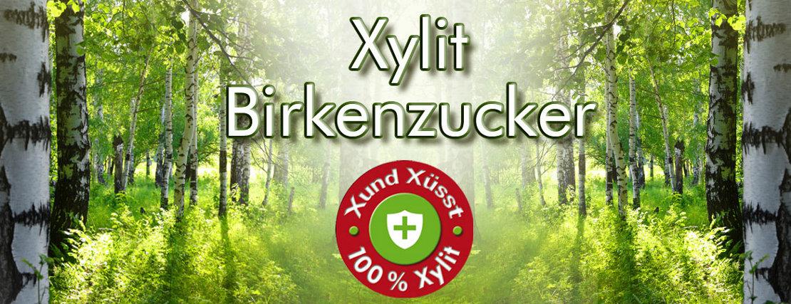 Xylit Birkenzucker kaufen naturrein & gentechfrei - Hier kaufen Sie Birkenzucker als Pulver, Kaugummis, Bonbons oder Schoki