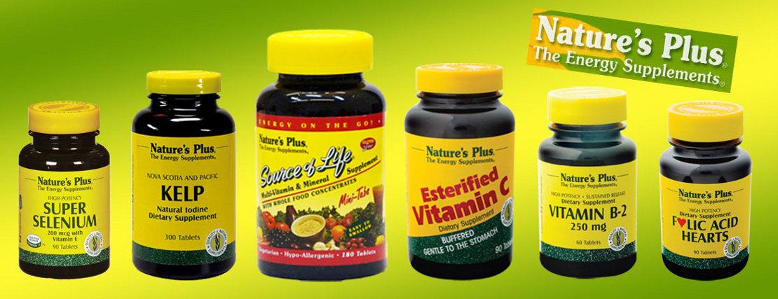 Natures Plus Vitamine & Nahrungsergänzungen bestellen Sie hier