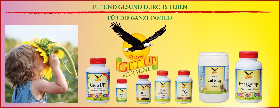GetUp Food Supplement Vitamine & Nahrungsergänzungen bestellen Sie hier